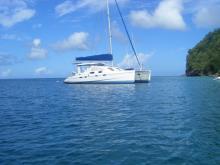 Robertson & Caine Leopard 43 :Martinique anchorage